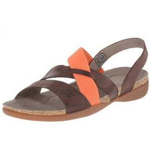 Keen Dynamic Elastic Strap Leather Sandal 10